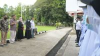 Kepala PP & SDM Regional Makassar, Fahsul Falah melepas puluhan peserta PKA tahun 2021 yang akan melaksanakan Studi Lapangan di Kabupaten Bulukumba